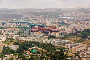 Estádio do Sport Lisboa e Benfica Champions League Finale 2020